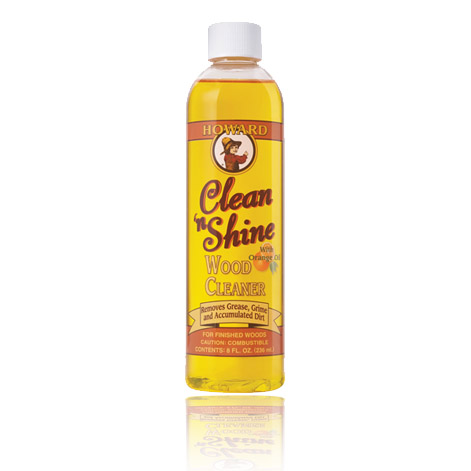 Chai xịt lau sạch bóng đồ gỗ mỹ nghệ sơn PU Clean'n Shine Wood Cleaner 236ml - CNS0008